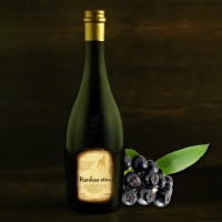 "Semi-sweet hokeberry wine 0.75l ""Rankas Vīns"""