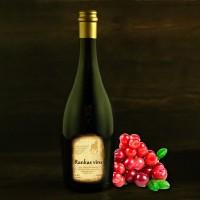 """Lingonberry semi-sweet wine 0.75l """"Rankas Vīns"""""""
