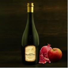 Semi-sweet apple - pomegranate dessert wine 0.75 l