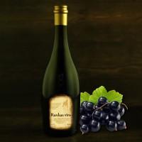 """Semi-sweet blackcurrant wine 0.75 l """"Rankas Vīns"""""""